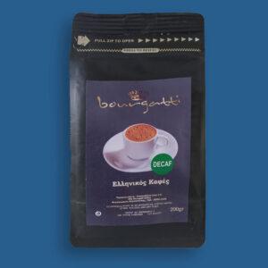 Ελληνικός Καφές Decaffeinated (200gr)