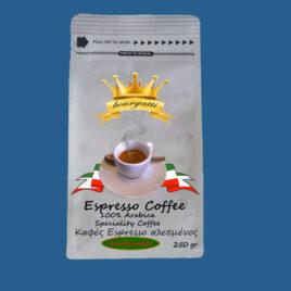 Καφές Espresso (250gr) Αλεσμένος Decaffeinated